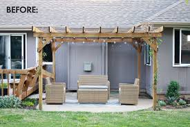 outdoor curtains for pergola really encourage make your own a beautiful mess intended 5