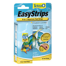 Tetra Test Strips Color Chart Easystrips 6 In 1 Aquarium Test Strips Tetra