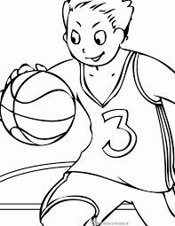 Kleurplaten Basketbal Kleurplaten Kleurplaatnl
