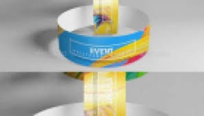 Inside psd file you can change the available format: Event Wristband Bracelet Mockup Free Graphic Templates Fonts Logos Icons Psd Ai