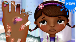 mcstuffins foot doctor game doc surgery you