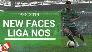 PES2019   5 NEW FACES added to LIGA NOS ft. Bruno Fernandes, Ruben Dias,  Benfica, Sporting Lisbon