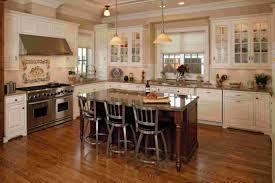 Kitchen Island With Granite Kitchen Captivating Alder Rustic Kitchen Island Beige Granite Top