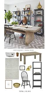 table desks office. @genevievegorder \u0027s Home Office Featured On @hgtv Recreated By @audreycdyer For $1,912 Table Desks