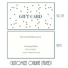 Making Certificates Online Free Make Your Own Gift Certificate Lovely Free Printable Beauty