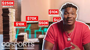 Haskins posted a picture of himself on twitter with the contract along with two photoshopped images of him in a no. Dwayne Haskins Went All Out When Spending His First 1 Million From Washington