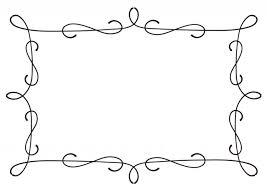 アンティーク曲線フレーム 無料イラスト素材素材ラボ