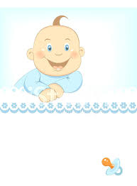 Announcement Of New Baby Boy Baby Boy Announcement Free Template