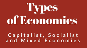 socialist economy types of economies capitalist economy socialist economy