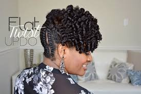 Twist Hairstyle 41 Best 24 Simple Flat Twist Updo On Natural Hair YouTube
