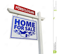 Foreclosure Home For Sale Real Estate Sign Stock Photo Image Of