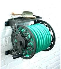 decorative hose reel liberty garden wall mounted aluminum aluminium
