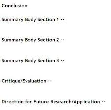 science thesis writing review outline and processes using concept maps