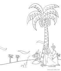 Islamic Coloring Pages With Muslim Printable Page For Kids 10