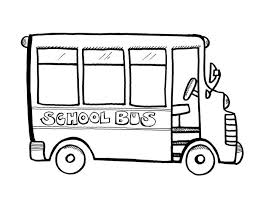 Small Picture School Bus Coloring Page Coloring Book