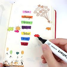 Caliart Markers 100 Color Chart