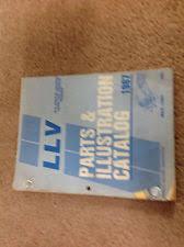 postal llv parts accessories 1987 1988 1989 1990 1991 1992 chevrolet u s mail llv parts catalog manual oem