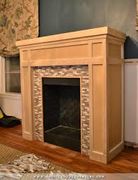 Fireplace mantel plans Craftsman Style Fireplace 50 Addicted To Decorating Diy Fireplace Finished Addicted Decorating