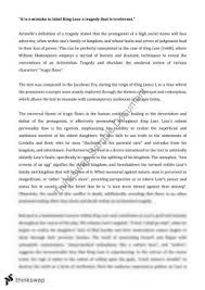 thesis help king lear essay king lear essay