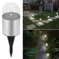 Outside Landscaping Lights Adecorty Solar Garden Lights Bright Solar Pathway Light Outdoor Waterproof Solar Stake Light Auto On Off Sun Powered Landscape Lighting For Yard