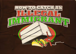 mexican and latino stereotypes jim crow museum state  illegal immigrant t shirt