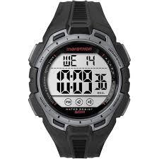 timex men 039 s marathon 24 hour stopwatch two time zones resin timex men 039 s marathon 24 hour stopwatch