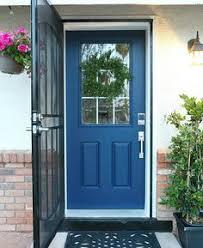 front door update non fade front door paint in color serene blue by cly clutter