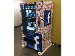 Vending Machines Manufacturers Custom Facebook's Latest Innovation Vending Machine That Dispenses Office