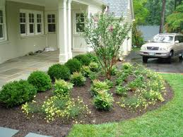 Small Picture Landscaping Ideas For Front Yard Small Simple House Garden Of