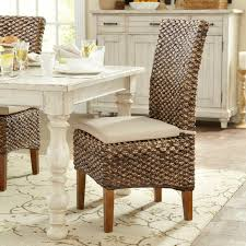 rattan dining chairs on model home security set wicker kitchen you ll love wayfair