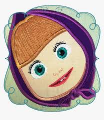 Masha Designs Marsha Face Embroidery Masha And Bear Designs Hd Png