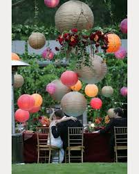 How Many Paper Lanterns  WeddingbeePaper Lanterns Wedding