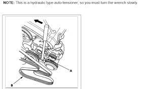 Serpentine Belt Diagram Changing Serpentine Belt And I Need