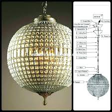 awful iers crystal globe ier iers luxury ball hotel living room led lamps beautiful iron crystal