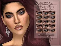 37 Colour options Found in TSR Category 'Sims 4 Eye Colors' | Sims, Sims 4  cc eyes, Sims 4