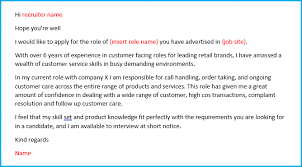 Cover Letter For A Customer Service Job Customer Service Cover Letter Example Get Your Cv Noticed