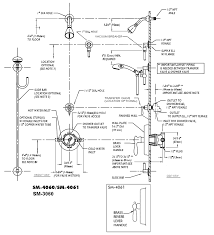 53 ada shower valve mounting height plumbing layout diagram diy