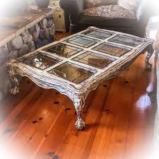 antique white distressed coffee table inspirational sold 5 farmhouse coffee table antique white w copper undertones