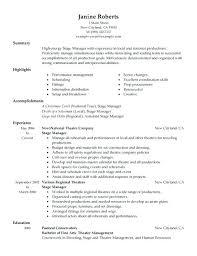 Stage Manager Job Description Job Roles Responsibilities 2 Assistant ...