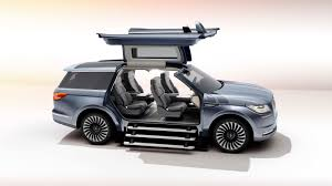 2018 lincoln navigator white. wonderful navigator this is lincolnu0027s big surprise for the new york auto show this navigator  concept with gullwing doors large enough to make a  throughout 2018 lincoln navigator white