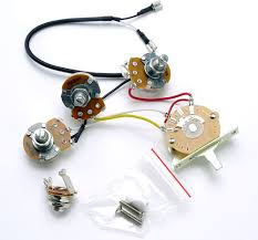 strat complete wiring harness pre assembled usa switch Automotive Wiring Harness Usa Wiring Harness #29