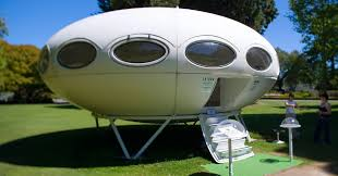 extremely rare 1960's futuro <b>UFO</b> house hits the market in new ...