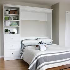 murphy bed in the office bed in office