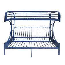 metal bunk bed. Exellent Bed ACME Furniture Eclipse Navy Twin Over Full Metal Bunk Bed For M