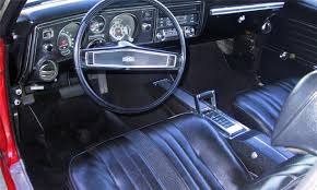 1969 chevrolet chevelle ss 396 coupe interior 39982