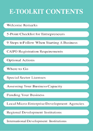 New Business Startup Checklist Small Business Start Up E Toolkit Pdf