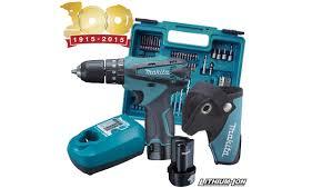 Máy khoan búa, vặn vít dùng pin MAKITA HP330DX100 - Dụng cụ điện máy Bắc  Ninh. Chuyên