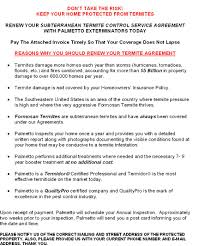Termite Service Agreement Image Collections - Agreement Letter ...