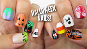 10 Halloween Nail Art Designs: The Ultimate Guide #2! - YouTube
