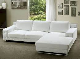 Living Room White Sectional Sofa Fresh White Leather Sectional